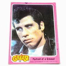 Vintage 1978 Paramount Pictures Grease Collectors Trading Card #58 Blowout Price - $0.96