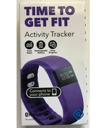 new Gems Bluetooth Fitness Activity Tracker Android iPhone (Purple) - $10.61