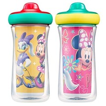 Disney Minnie Mouse Insulated Hard Spout Sippy Cups 9 Oz, 2pk | Scan wit... - $11.92