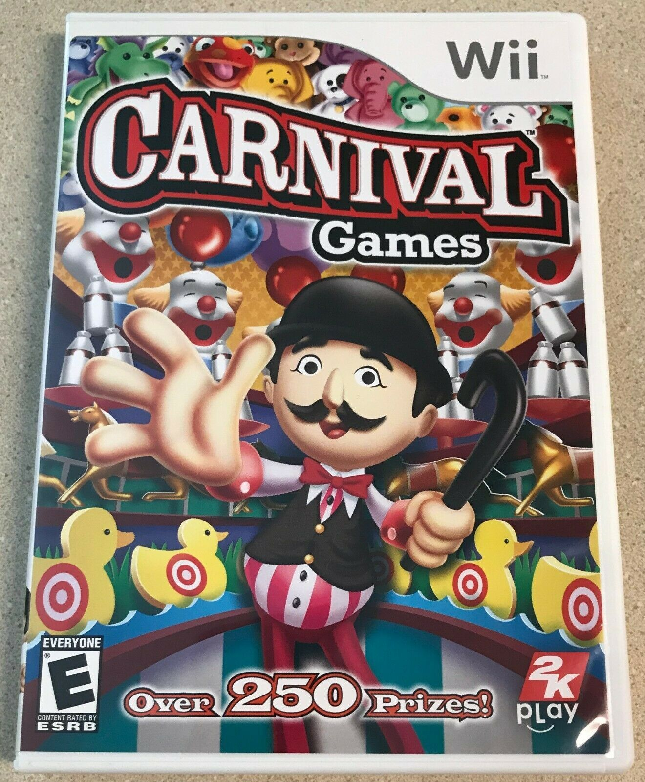 Carnival Games (Nintendo Wii, 2007) Game