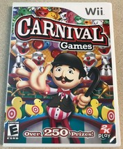 Carnival Games (Nintendo Wii, 2007) Game - $4.99