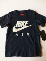Nike Boys XS Blue and White Short Sleeve T Shirt New Size 4 - $12.86