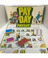 Vintage 1975 PayDay Game Board 100% Complete - $59.35