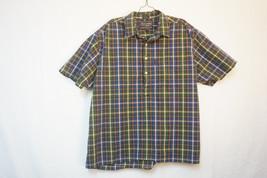 Abercrombie Heavy 1/2-Burron-Front/Henley Shirt, Men's XL 8598 - $10.00