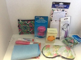 Unisex Nine Piece Holiday Gift Pack, Soap, Eye Mask, Face Scrubber, and More  - $15.00