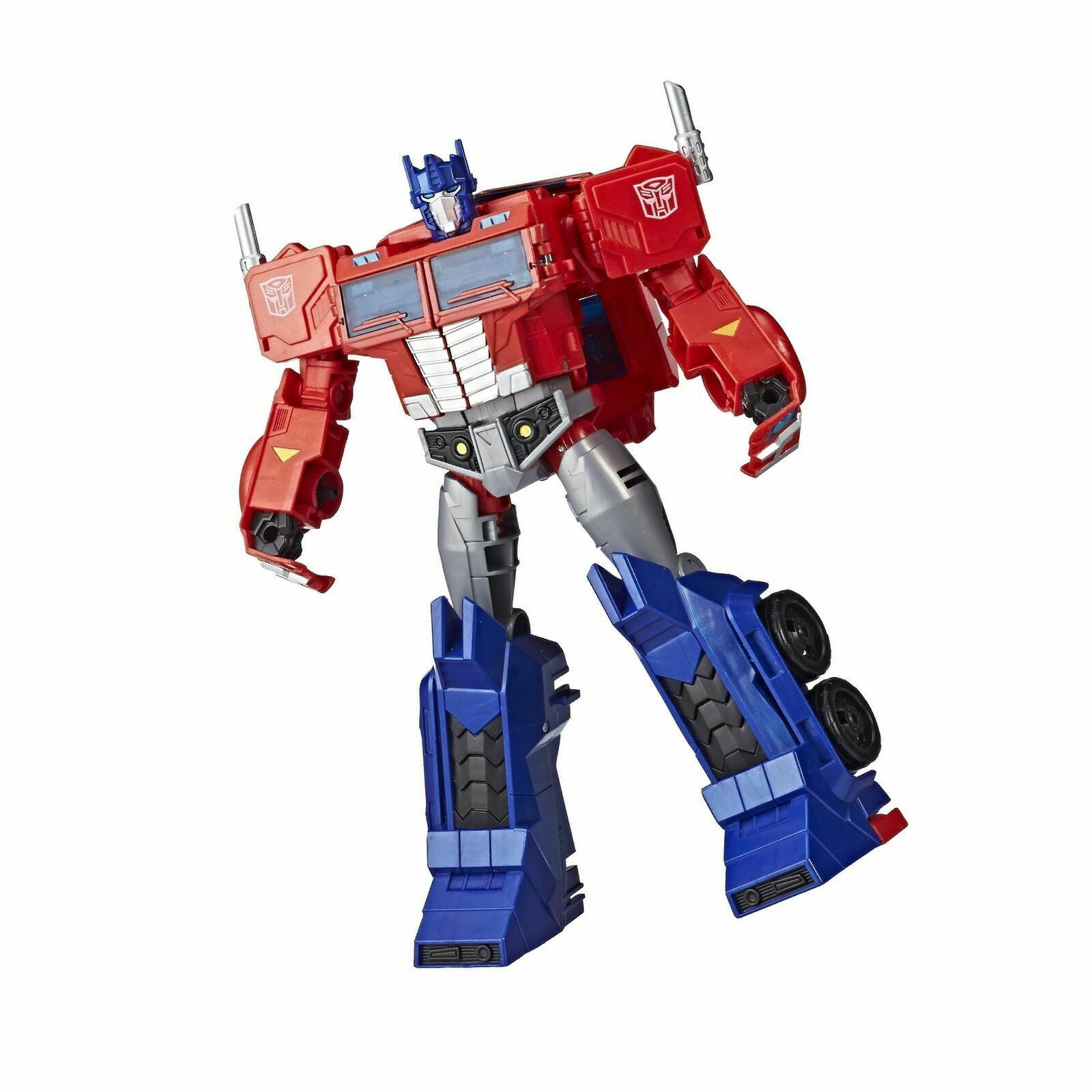 Transformers Toys Optimus Prime Cyberverse Ultimate Class Action Figure
