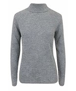 Momo&Ayat Fashions Ladies Warm Knitted Skinny Rib Roll Neck Jumper US Si... - $11.45