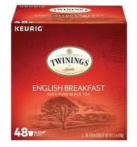 Twinings English Breakfast Decaf Tea, Keurig K-Cups, 48 Count - $28.49
