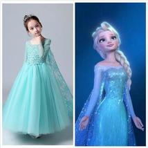 Frozen Elsa Snow Queen dress Princess Elsa Costume for girls toddler  - $69.00