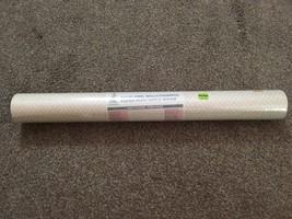 New Castleton One Bolt Solid Vinyl Wallcovering Paper - Cream & Tan Pattern - $29.99