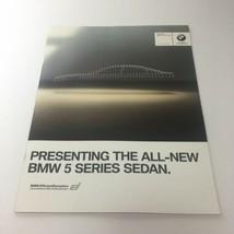 2008 BMW 5 Series Sedan Efficient Dynamics Dealership Car Auto Brochure ... - $9.22