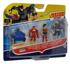 Justice League Mighty Minis Figures Wonder Woman Flash Mongul - $9.00