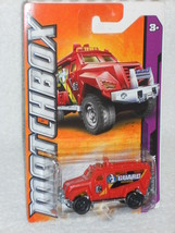 Matchbox 2012 MBX Airport Series 2/10 Swat Truck Red - $2.50