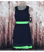 Paper doll sleeveless pleat dress with belt for girls - $10.99