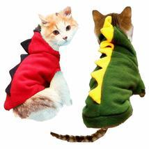 Warm Cat Clothes Pet Dog Costume Suit Halloween Dragon Clothing For Cat ... - €11,05 EUR+