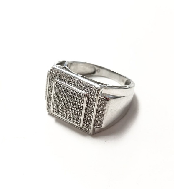 Primary image for  Men's 10kt White Gold Class ring