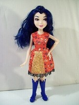 "DISNEY DESCENDANTS FASHION EVIE ISLE OF THE LOST 11"" DOLL HASBRO RED DRESS - $15.63"