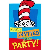 """Amscan PARTY CARDS, 6.25"""" x 4.25"""", Multicolor - $8.86"""