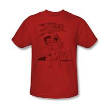 Speed Racer X T-shirt retro 80's Saturday morning cartoon cotton red tee SPD102 image 2