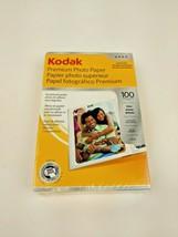 Kodak Premium Photo Paper 4x6 Gloss 8.5 mil 100 Sheets - SEALED - $7.99