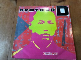 "BROTHER D ""CLAPPERS POWER"" RAP HIP HOP VINILO 30.5cm SOLO RECORD - £4.00 GBP"