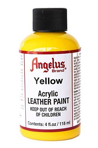 Angelus Acrylic Leather Paint-4oz.-Yellow