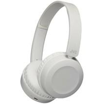JVC HAS31BTH Foldable Bluetooth On-Ear Headphones (Warm Gray) - $76.43