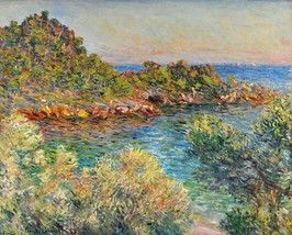 Landscape near Monte Carlo Painting by Claude Monet Art Reproduction - $32.99+