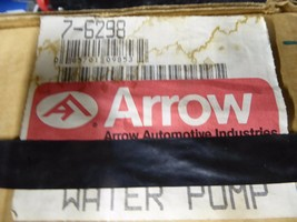 7-6298 Toyota Water Pump Remanufactured By Arrow 16100-19025,19026,19027 image 2