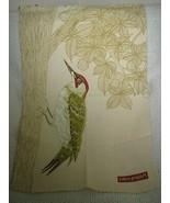 Woodpecker Cotton Tea Towel Eden Project By Ulster Weavers - $11.70