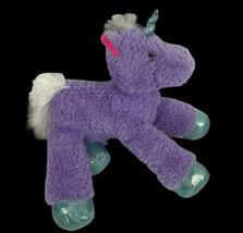 """Purple Sparkles Unicorn 17"""" Plush Large Pink Eyes MTY - $14.85"""