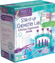 Educational Insights Nancy B's Science Club Chemistry Lab & Kitchen Expe... - $49.27