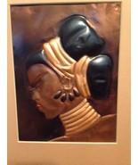 3 Wanda Irwin 1948 Vintage MCM Tooled Copper Art Pictures Originals Meta... - $118.79