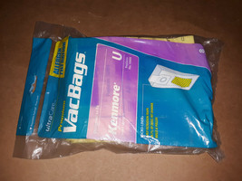 20II13 Ultracare Vacuum Bags, For Kenmore U Style, 8 Bags In Pouch, New - $7.82