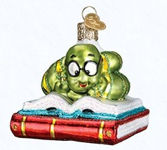 Old World Christmas 12514 Ornament, Bookworm - $15.59