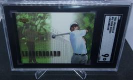 2001 Upper Deck Golf Leaderboard Tiger Woods Rookie Card #90 SGC Graded ... - $98.99