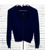 J. Crew Factory | Ruffled Celosia Cardigan Sweater - $20.00