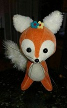 Vintage Dakin Dream Pets Red Fox With Tag 1970's - $25.13
