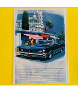 VINTAGE 1963 PRINT AD FOR PONTIAC GRAND PRIX TWO DOOR SEDAN - $9.85