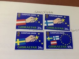 Gibraltar European Union 1995 mnh  stamps - $3.65