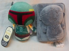Boba Fett Han Solo Carbonite Hallmark Itty Bittys Star Wars Exclusive Toy New - $118.80