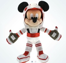 "Disney Parks Mickey Mouse 9"" Mission Space Astronaut Plush New With Tags - $28.45"