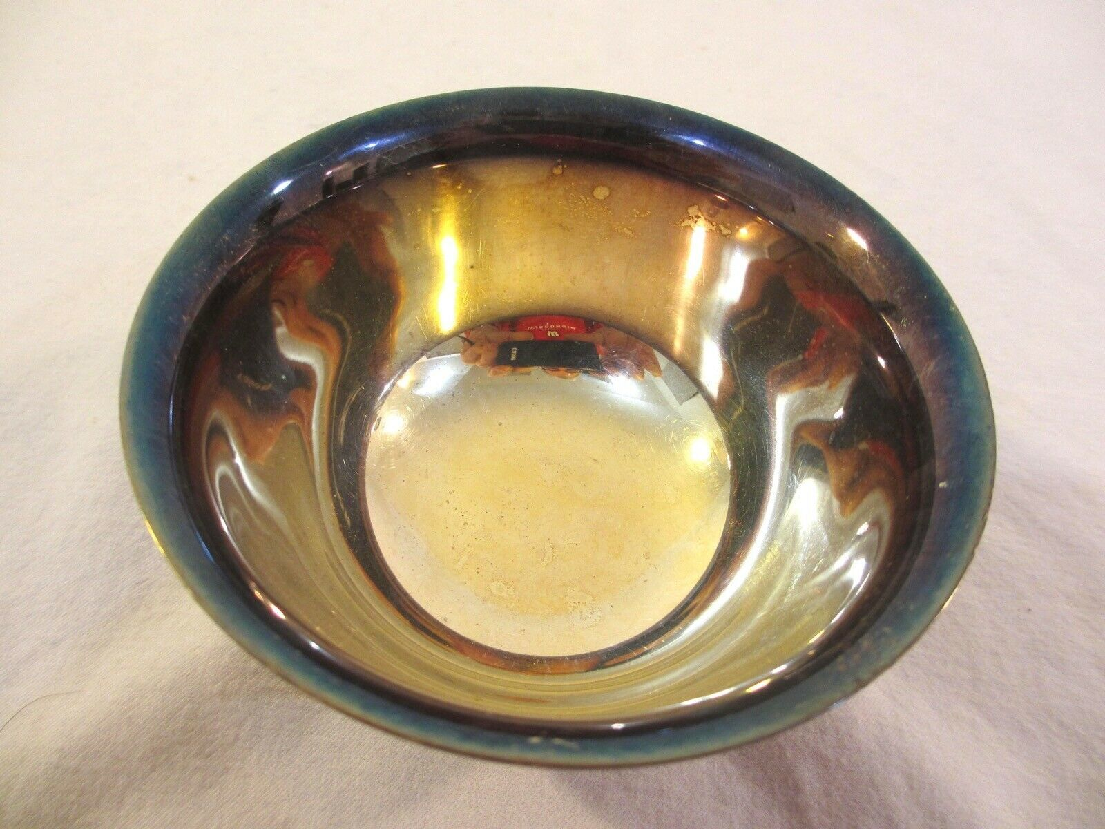 Reed & Barton Silver-plated Bowl – Paul Revere Design #14 - $22.50