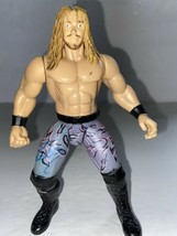 Vintage 1998 Edge WWE Action Figure, Jakks, Titan, Pink and Grey Pants - $6.44