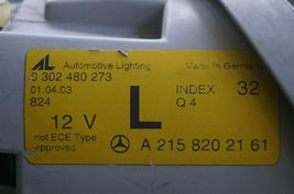 03-06 Mercedes W215 CL500 CL600 CL55 AMG Xenon HID Headlight Driver LEFT LH image 9