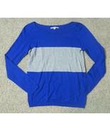 Gap Royal Blue Gray Sweater Size Medium M - $12.19