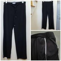 Ellen Tracy Waist Tie Pocket Lounge Pant Size Medium - $9.90