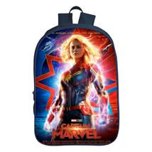Captain Marvel 3D Print Backpack Students School Bag Kids Travel Bag Rucksack - $23.99