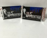 Donald Trump The Apprentice Collector Cards Possible Autograph 2 Packs Brand New - €49,99 EUR