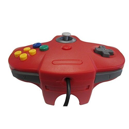 Nintendo N64 USB Controller Red By Mars Devices